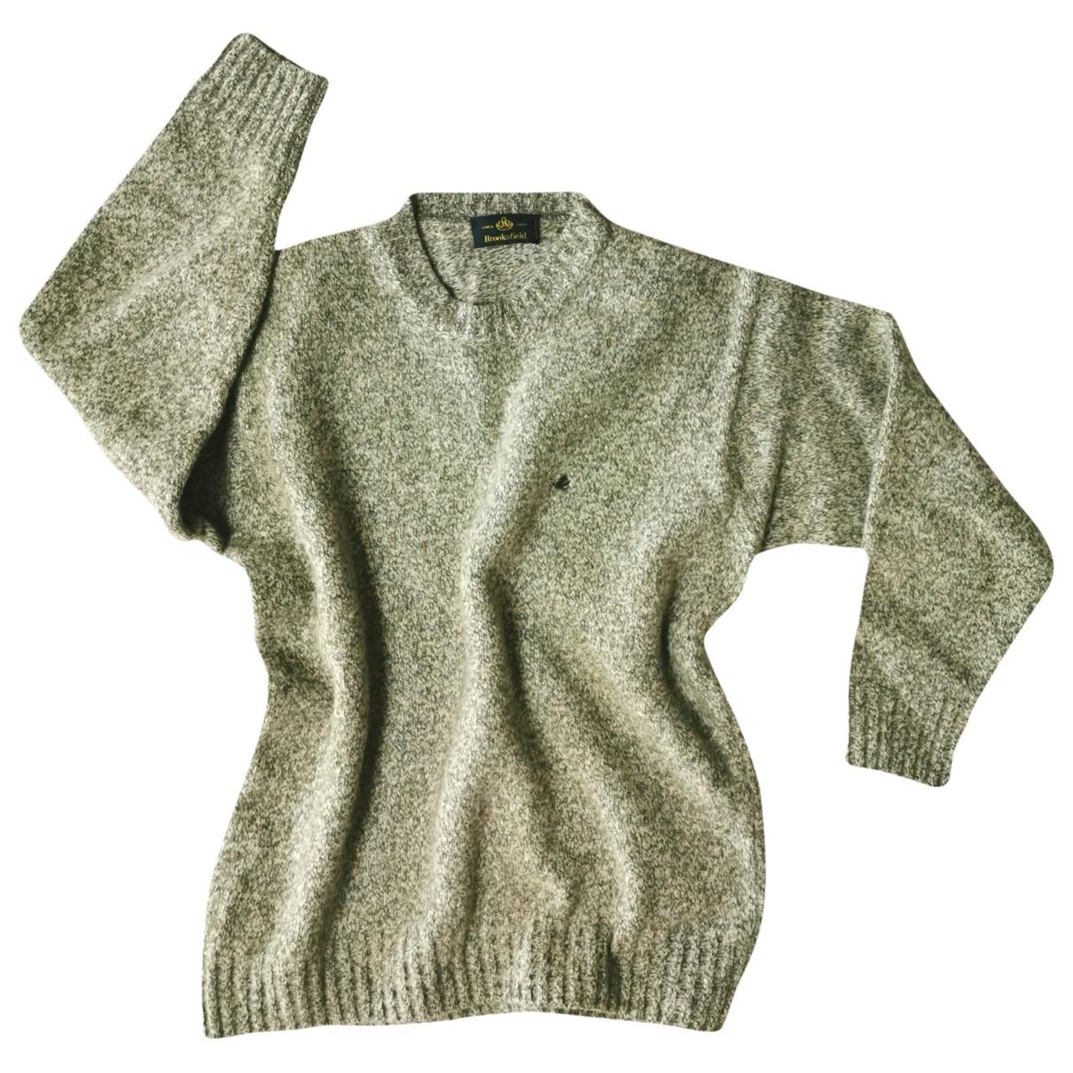 Brooksfield - Pull   pour femme en laine - multicolore