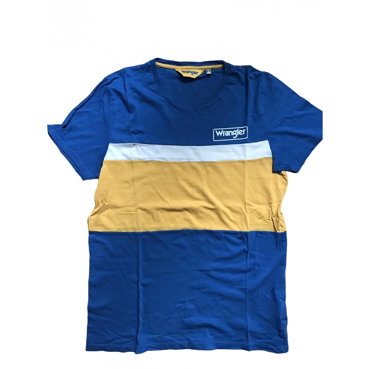 Wrangler \N Blue Cotton T-shirts for Men M International