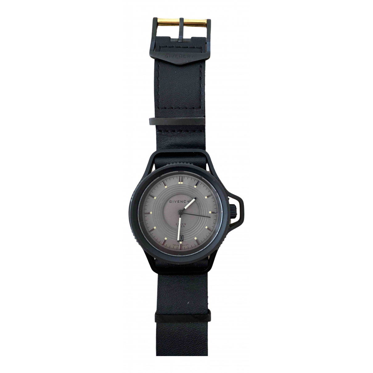 Givenchy N Silver Steel watch for Men N