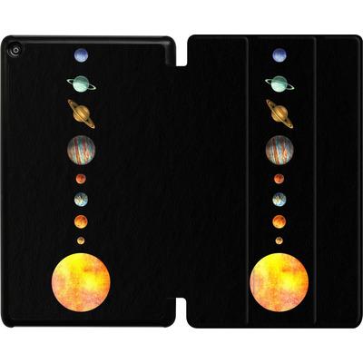 Amazon Fire HD 8 (2018) Tablet Smart Case - Solar System von Terry Fan