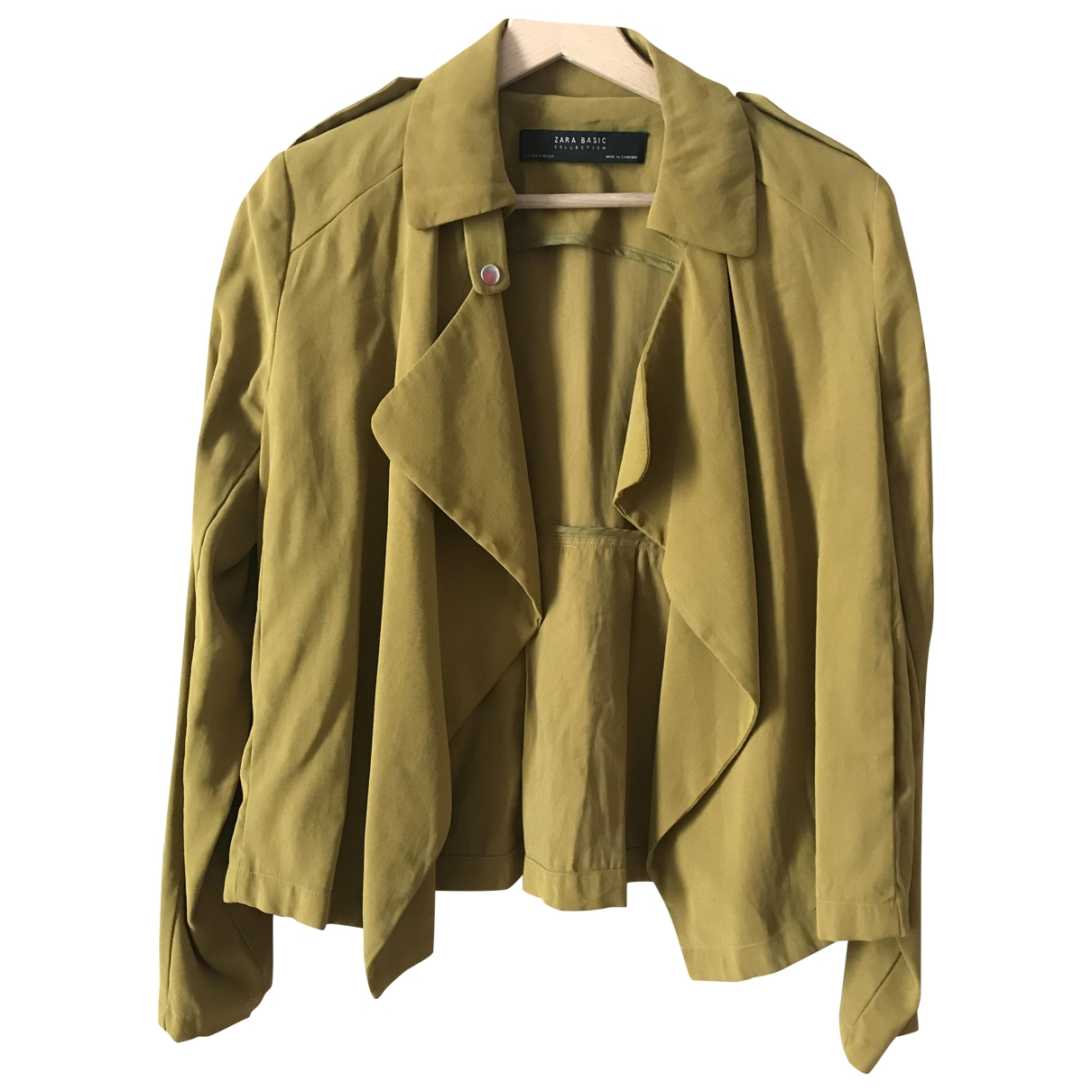 Zara \N Green Cotton jacket for Women S International