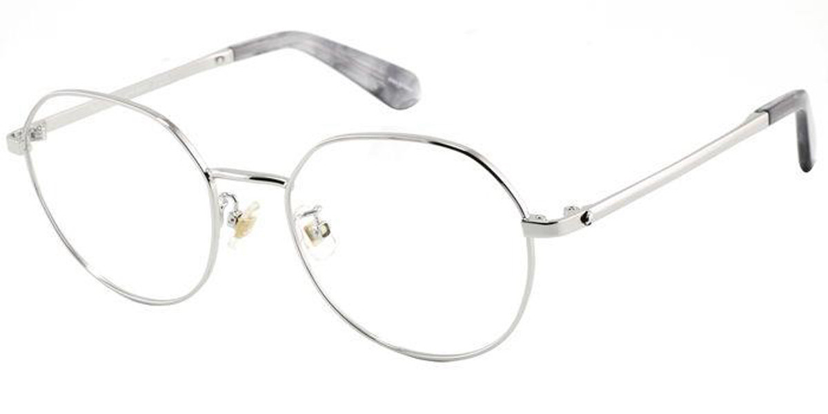 Kate Spade Paia/F Asian Fit KB7 Women's Glasses Silver Size 52 - Free Lenses - HSA/FSA Insurance - Blue Light Block Available