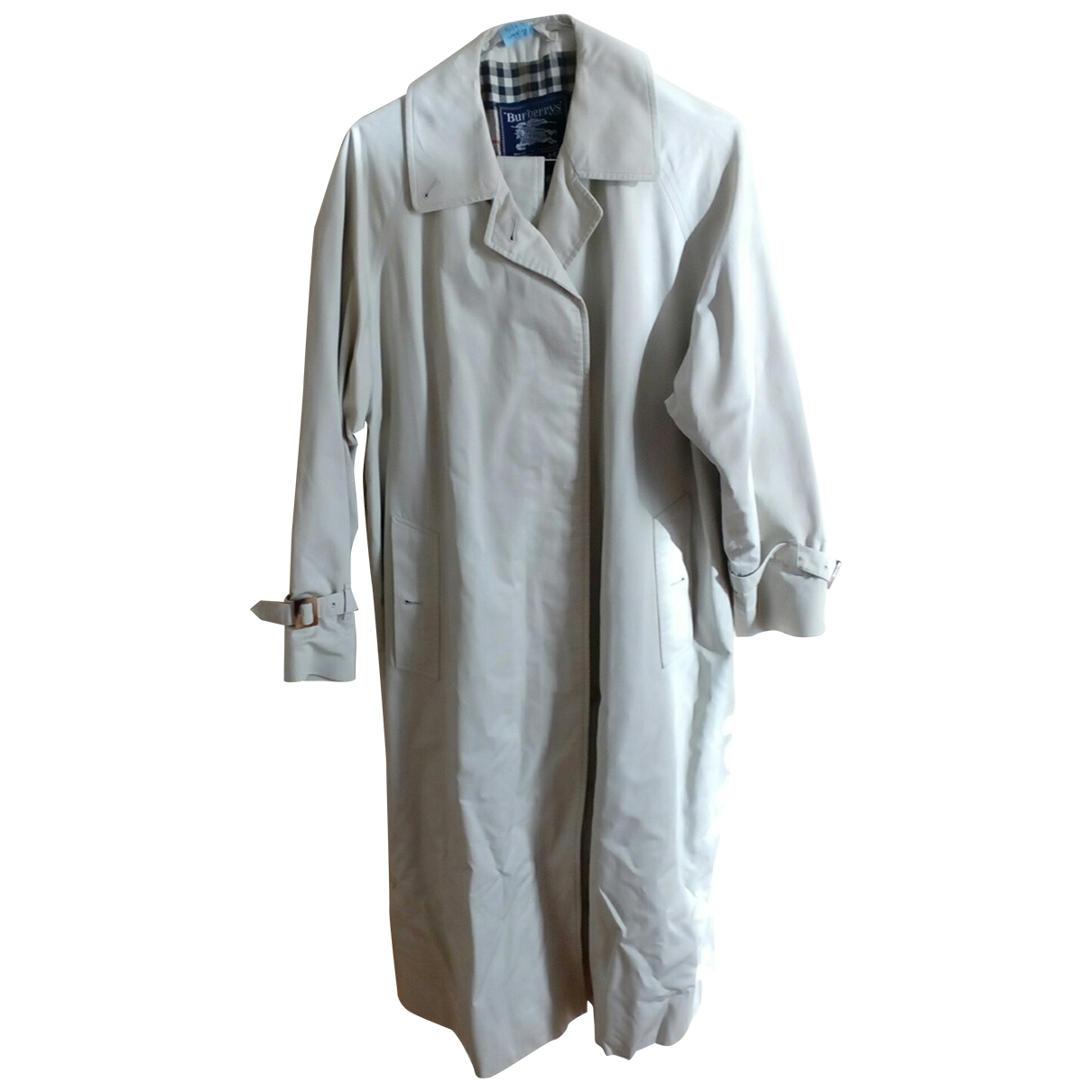 Burberry \N Beige Cotton Trench coat for Women One Size IT