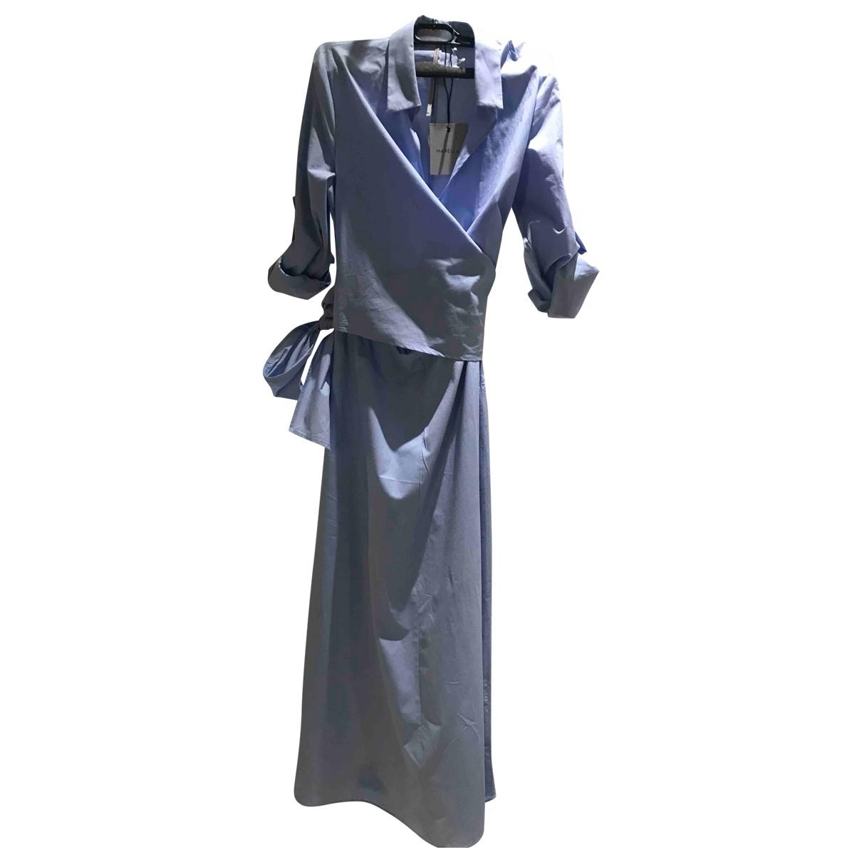 Marella \N Kleid in  Blau Baumwolle