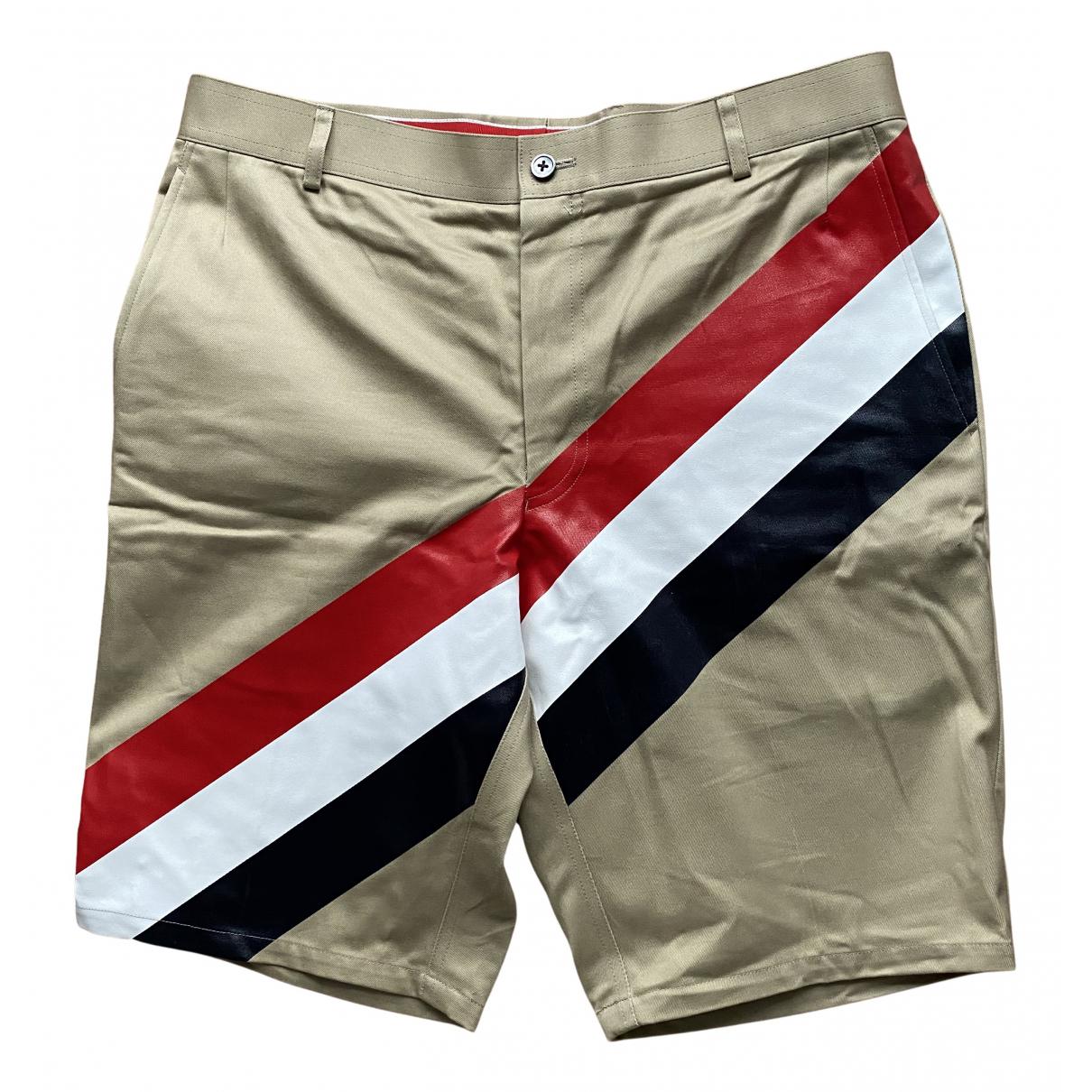 Thom Browne \N Shorts in  Beige Baumwolle