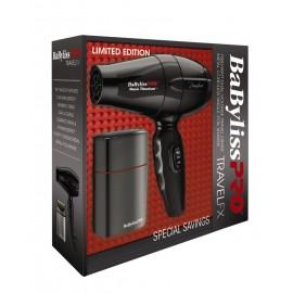 Travelfx Bambino Travel Dryer 7babnt5510 Single Foil Shaver Fx Fxfs1 Combo