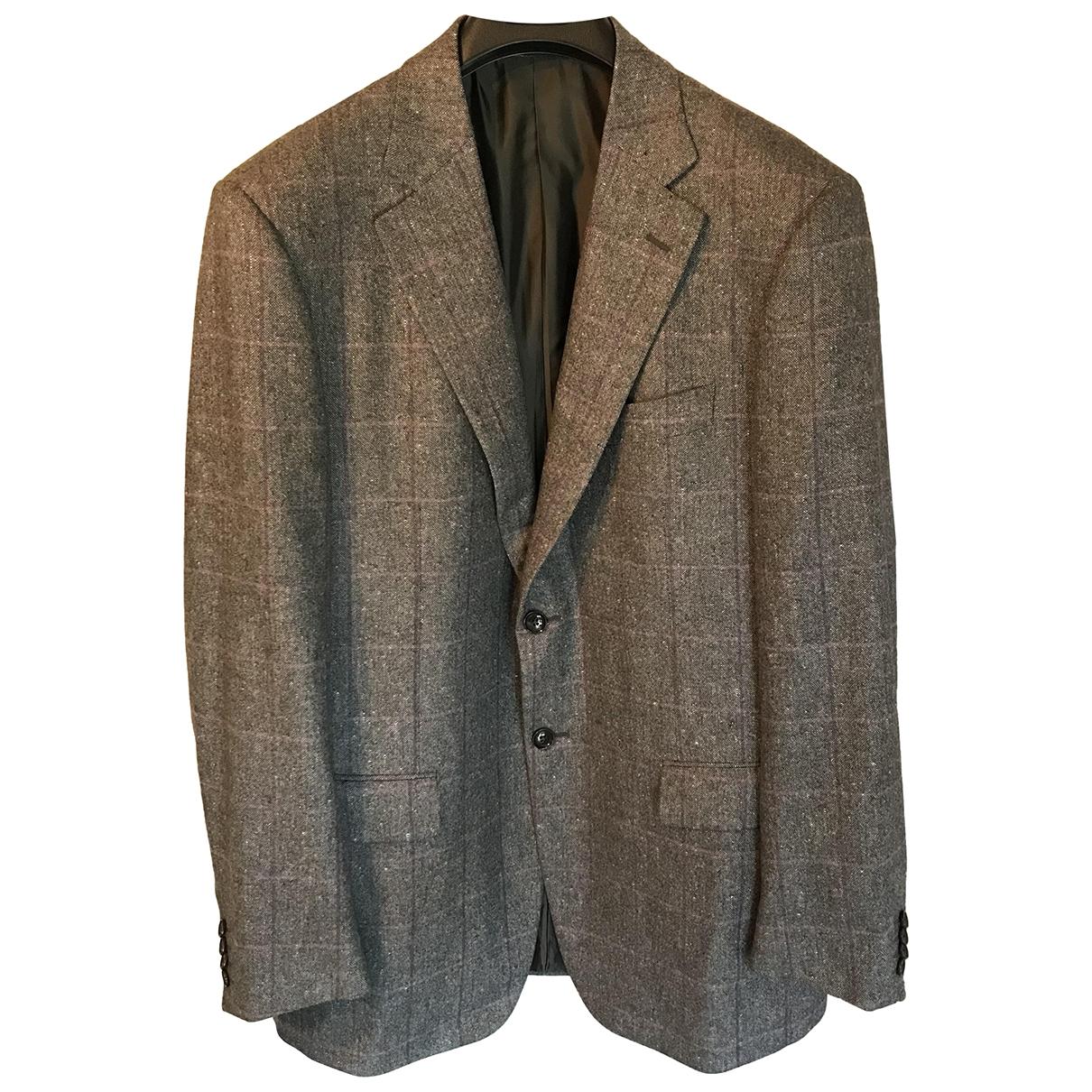 Pal Zileri - Vestes.Blousons   pour homme en laine - gris