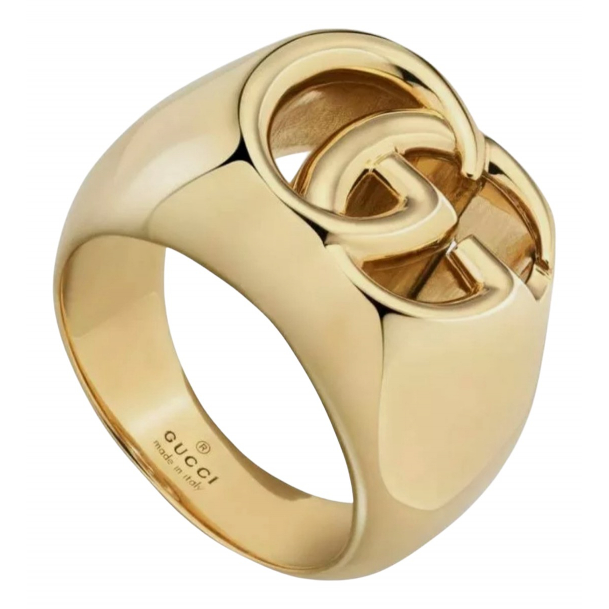 Gucci \N Ring in  Gold Gelbgold