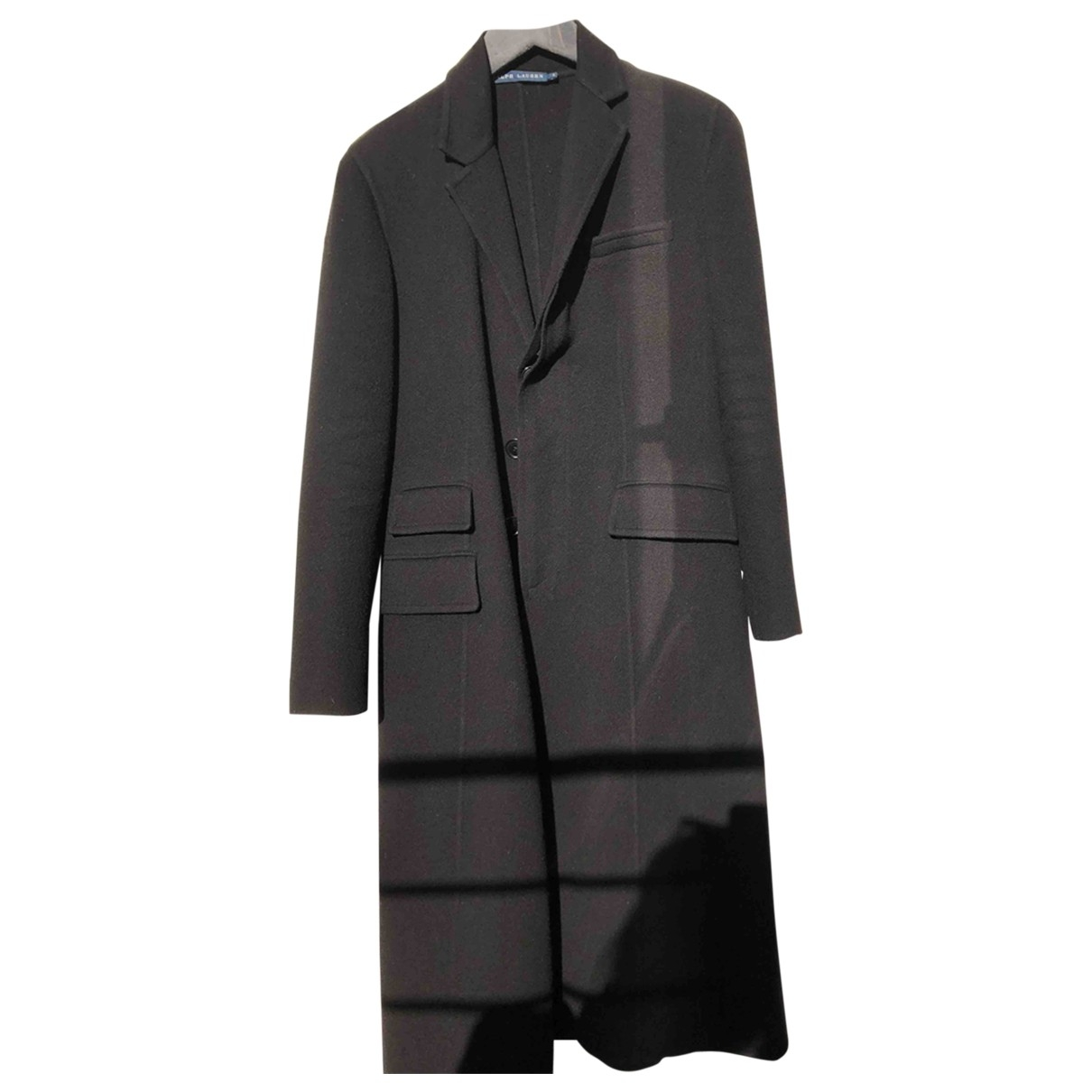 Ralph Lauren \N Black Wool coat for Women 6 US