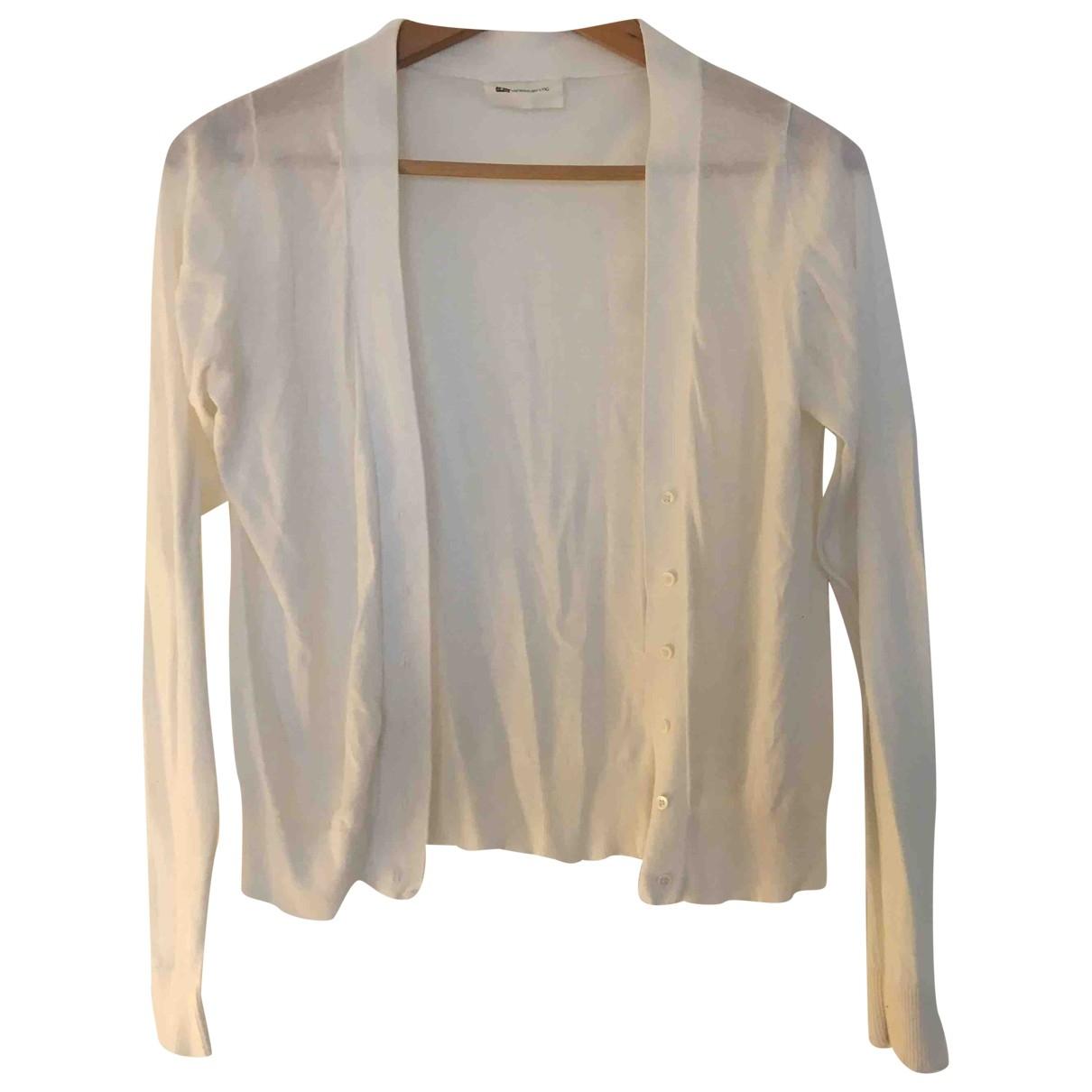 Vanessa Bruno Athe - Pull   pour femme en soie - blanc