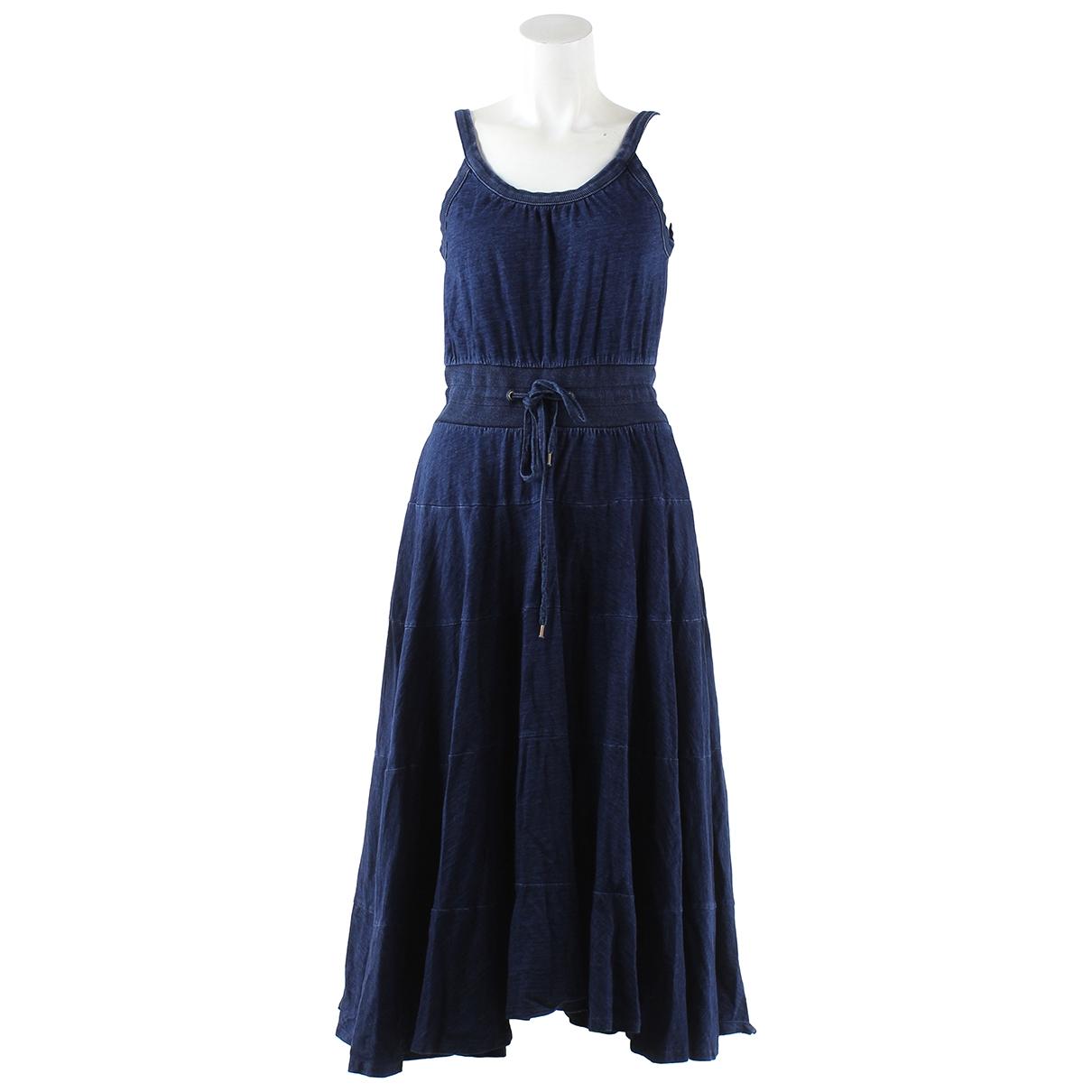Marc Jacobs \N Kleid in  Blau Baumwolle