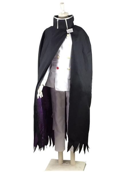 Milanoo Danganronpa V3 Killing Harmony Kokichi Oma Cosplay Costume Halloween