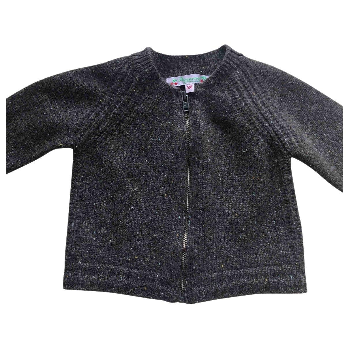 Bonpoint - Pull   pour enfant en cachemire - marron