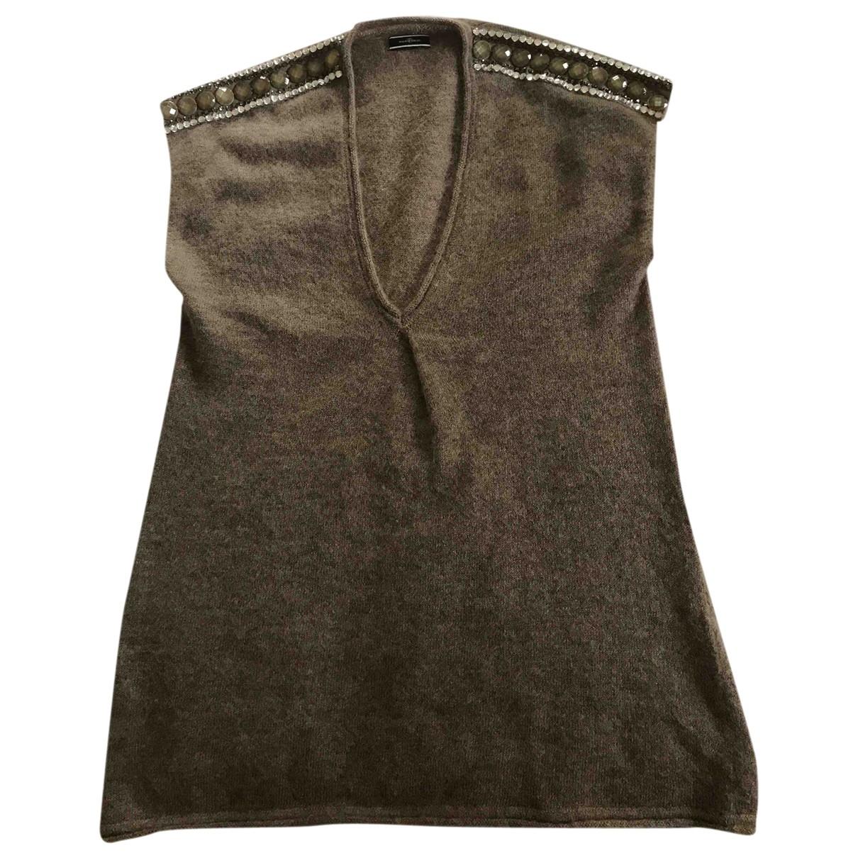 By Malene Birger \N Kleid in  Kamel Wolle