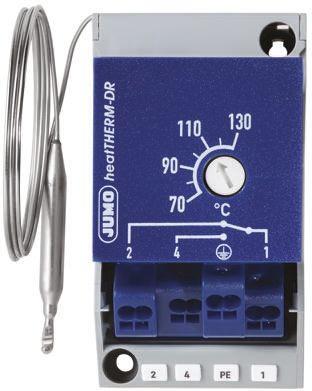 Jumo NO/NC 16 A Capillary Thermostat