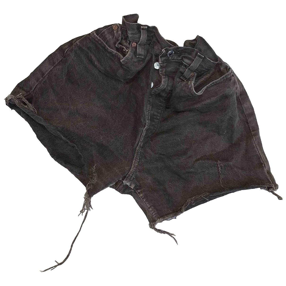 Levis Vintage Clothing \N Shorts in  Braun Denim - Jeans