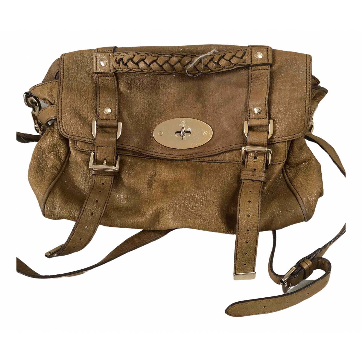 Mulberry Alexa Beige Glitter handbag for Women \N