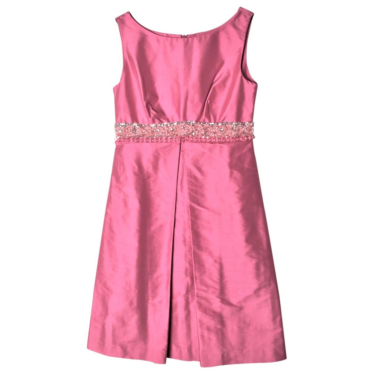 Vestido de Seda Parosh