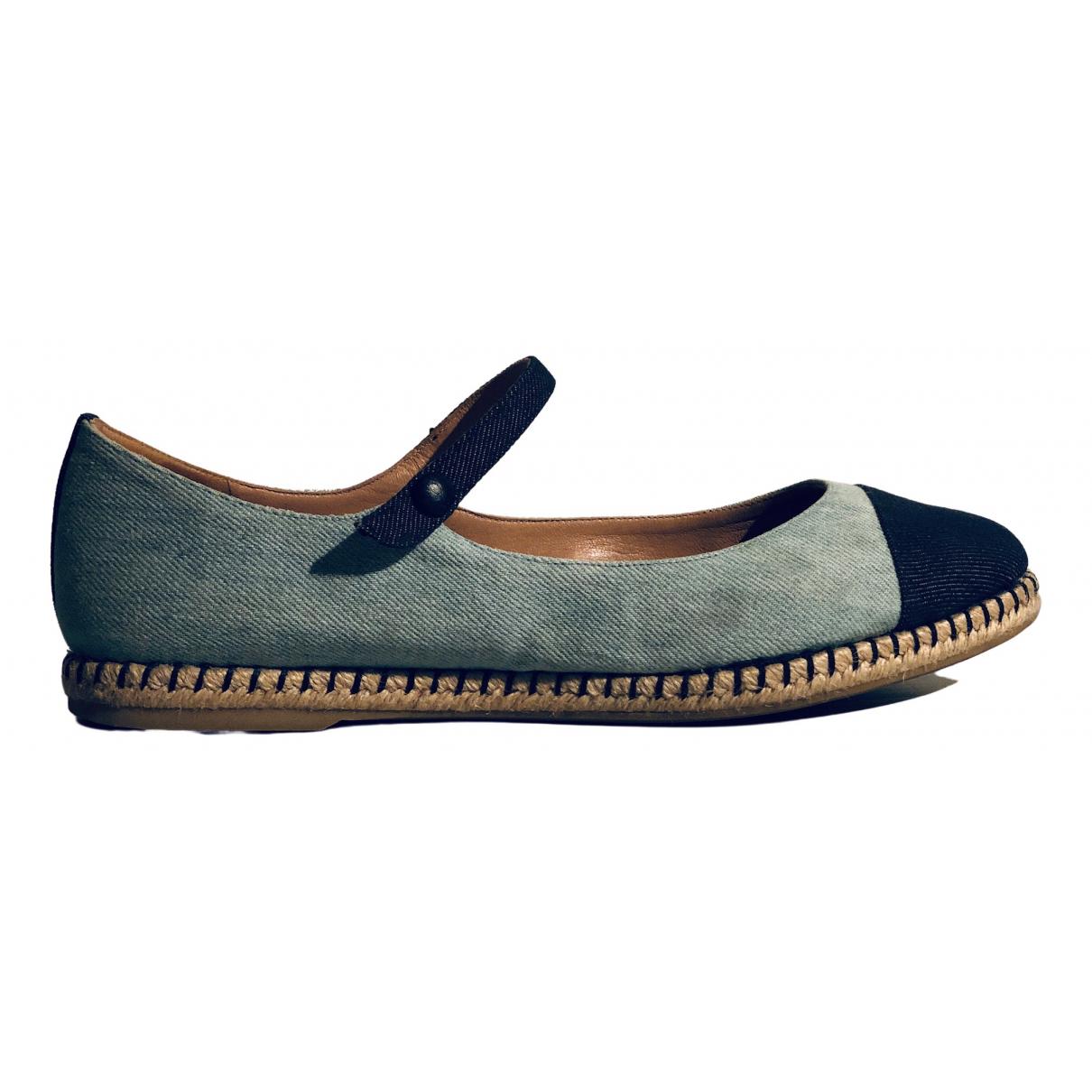 Tabitha Simmons \N Espadrilles in  Blau Denim - Jeans