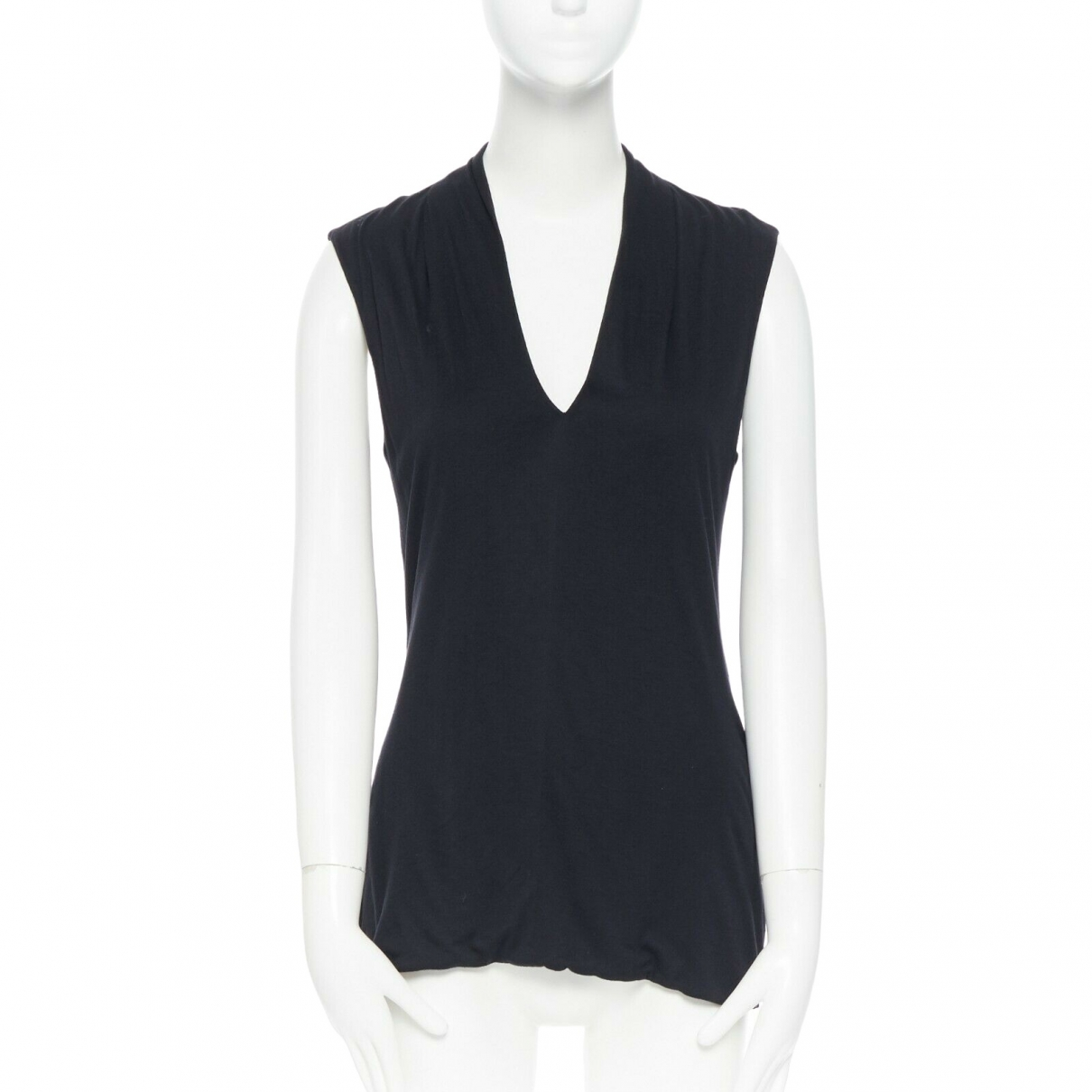 The Row - Top   pour femme en coton - noir
