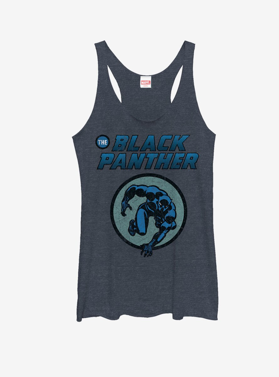 Marvel Black Panther Leap Womens Tank