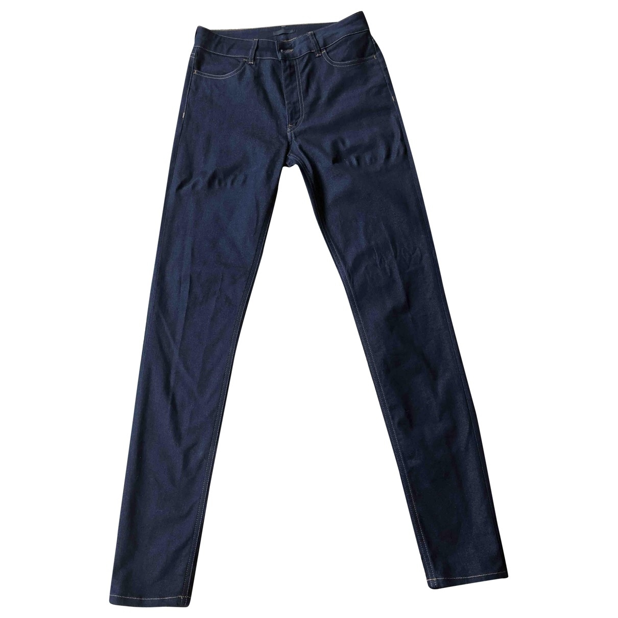 Prada \N Blue Cotton - elasthane Jeans for Women 30 US