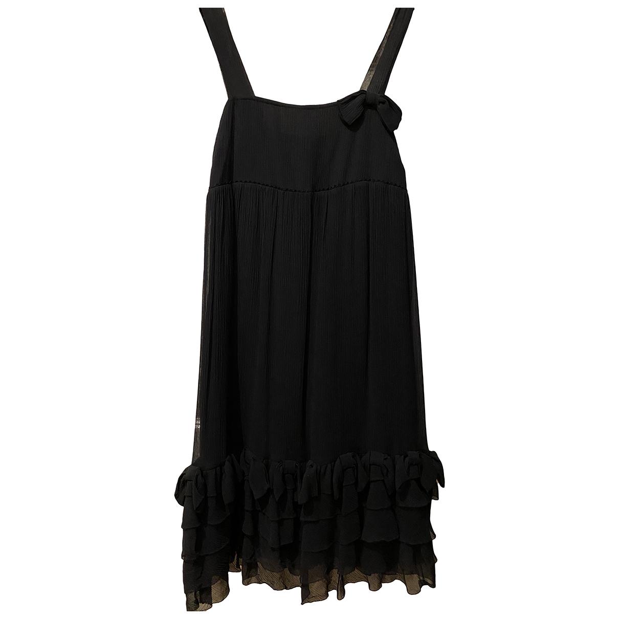 Juicy Couture - Robe   pour femme en soie - noir