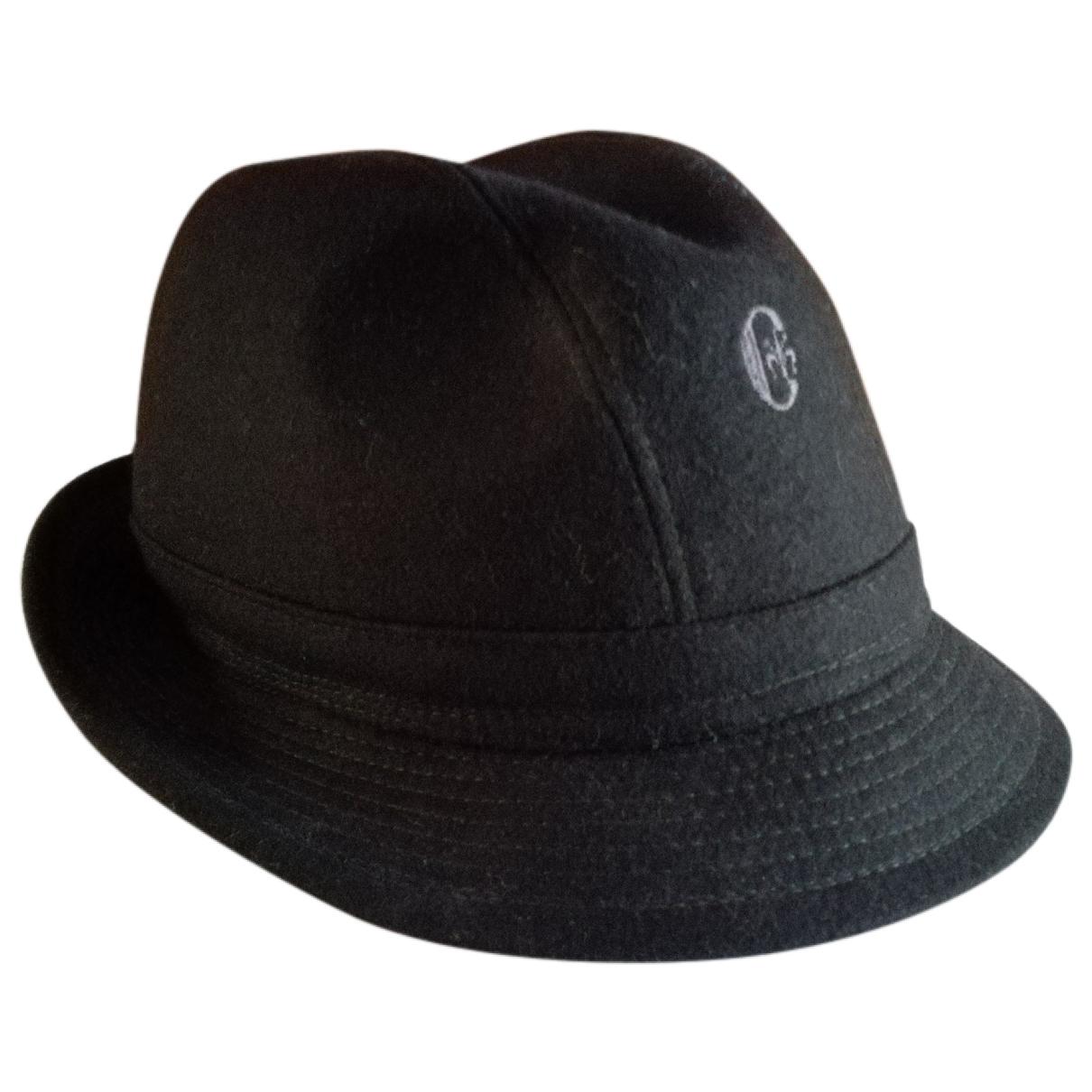 - Chapeau & Bonnets   pour homme en laine - noir