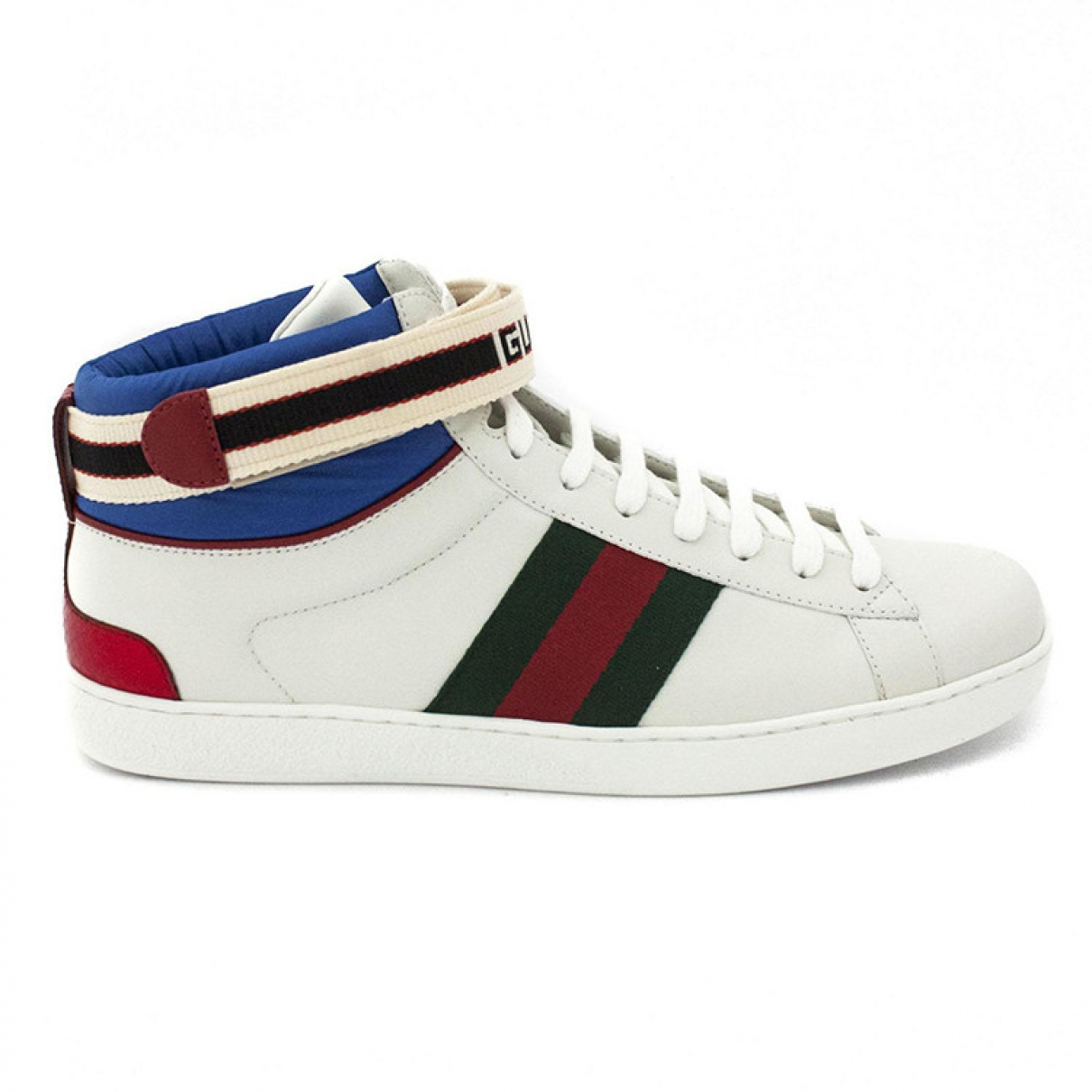 Gucci Ace White Leather Trainers for Men 7 UK
