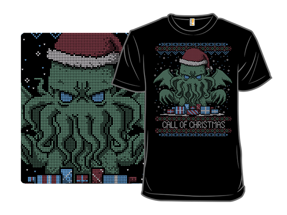 Call Of Christmas T Shirt
