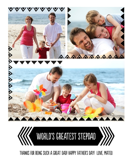 Family 16x20 Metal Panels, Home Décor -Greatest Dad