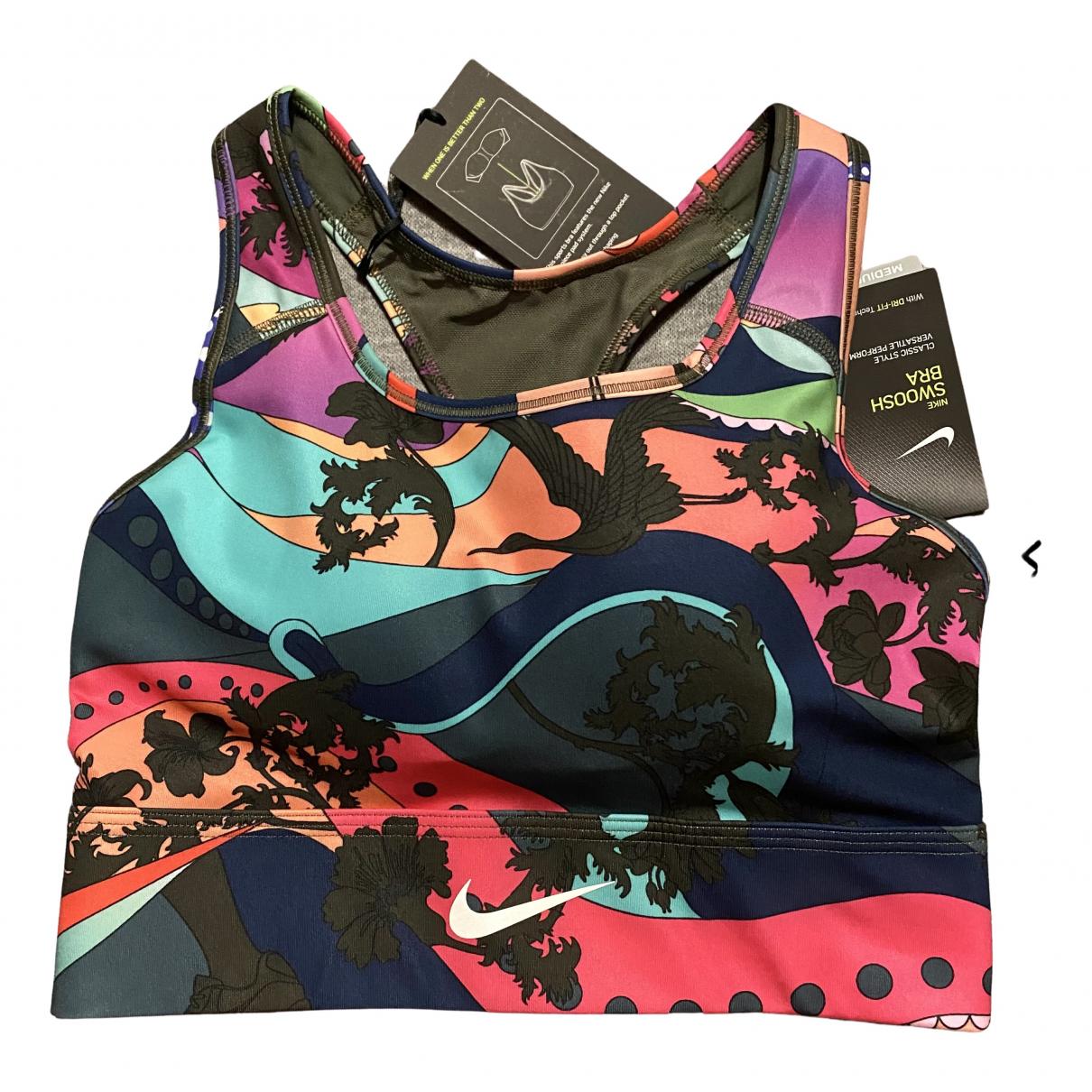 Nike - Top   pour femme - multicolore