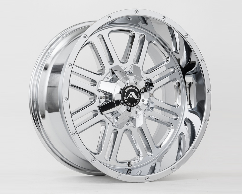 American Off-Road A10620A2514-44CR A106 Chrome Wheel 20x12 5x114.3 -44mm