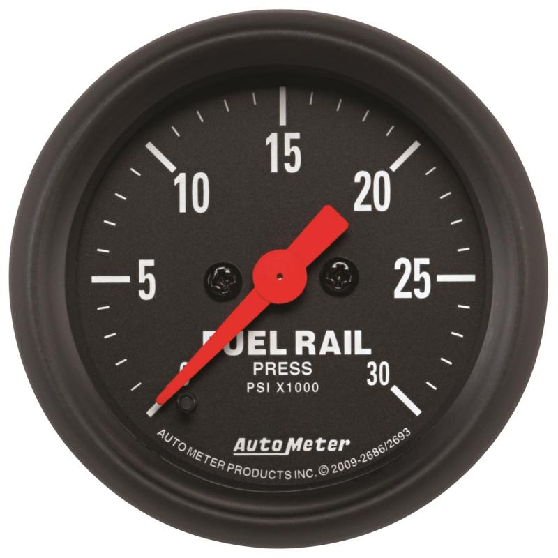 AutoMeter GAUGE; RAIL PRESSURE (RAM 5.9L); 2 1/16in.; 30KPSI; DIGITAL STEPPER MOTOR; Z