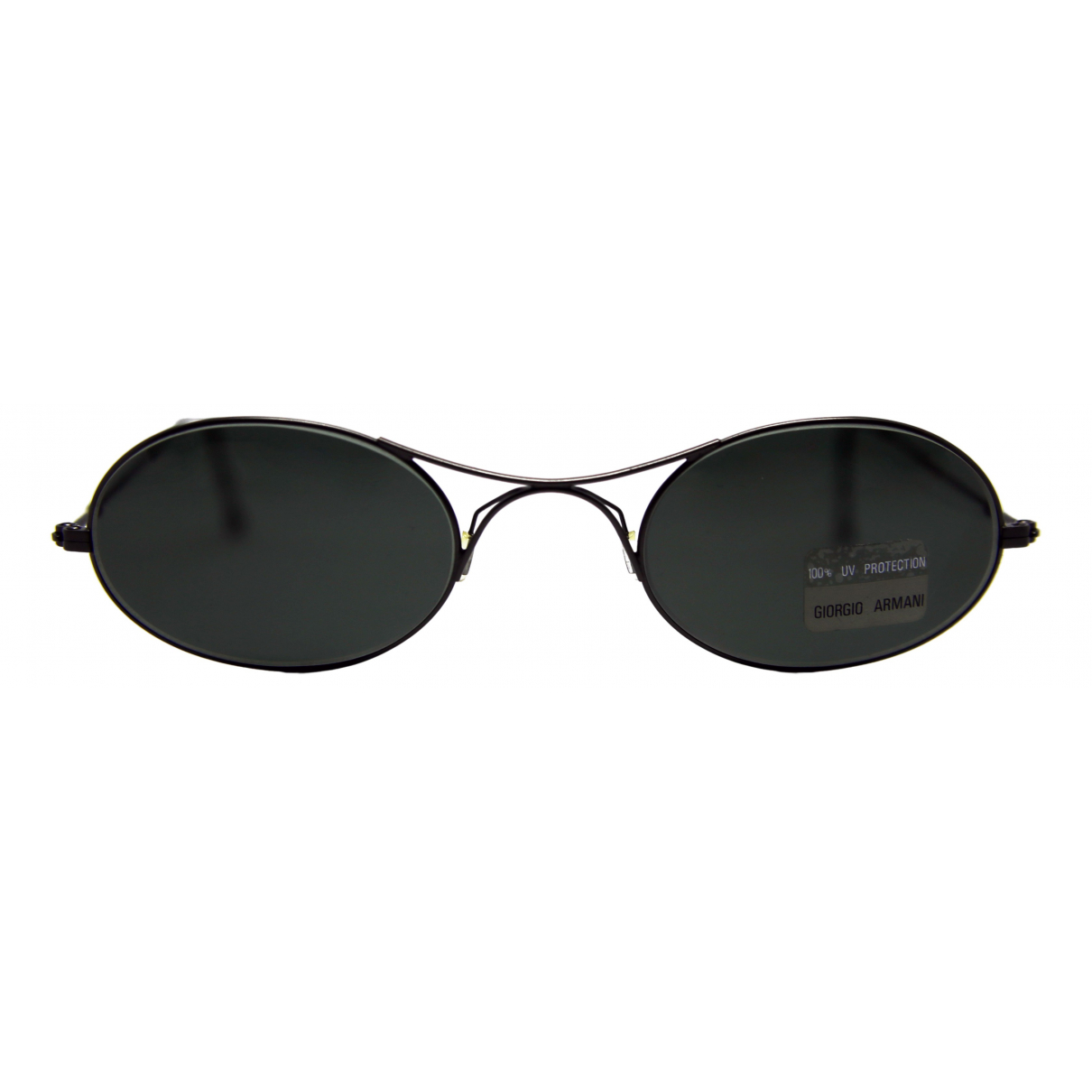Giorgio Armani N Black Metal Sunglasses for Men N