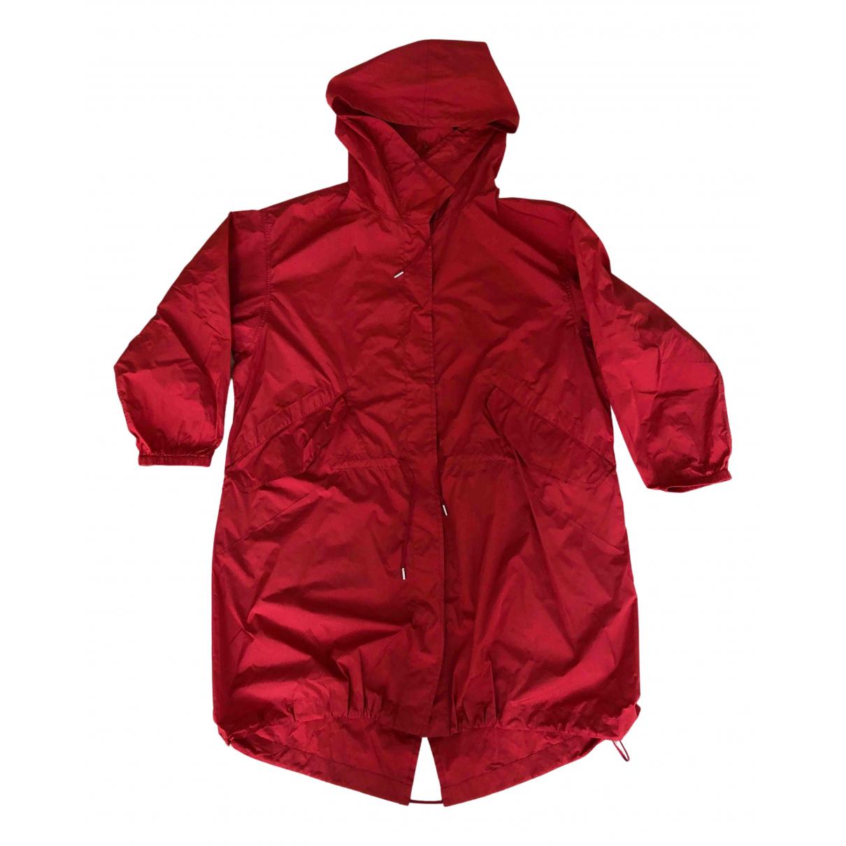 Jil Sander - Manteau   pour femme - rouge