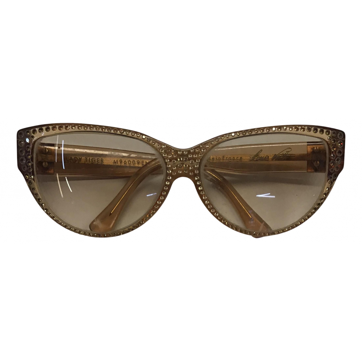 Louis Vuitton - Lunettes   pour femme - marron