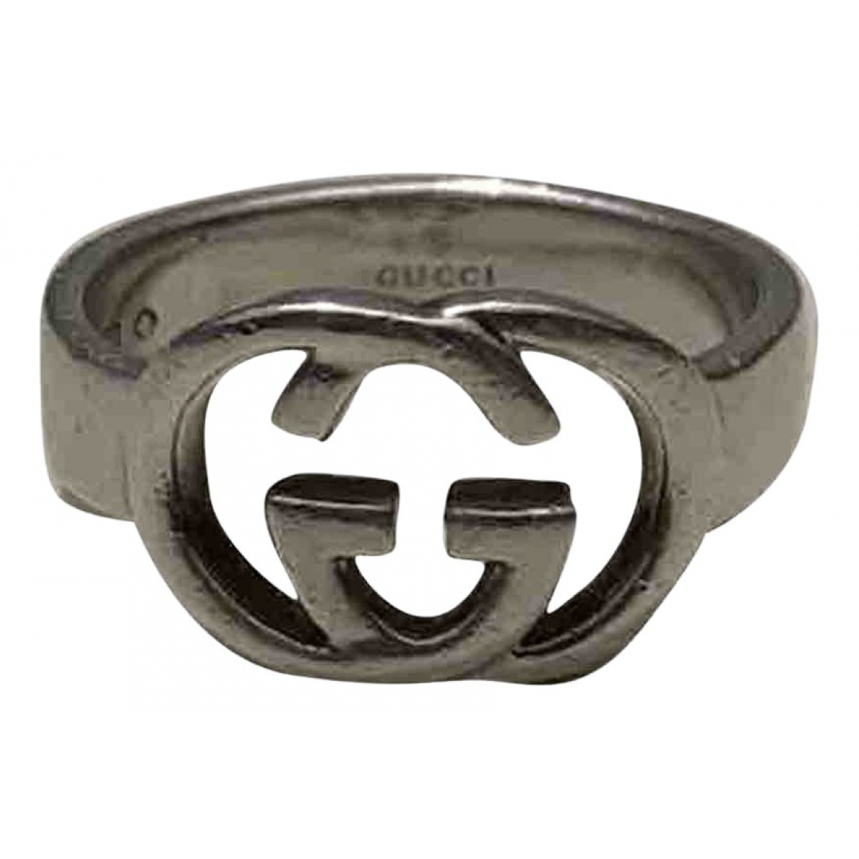 Gucci \N Silver Metal ring for Women 56 EU