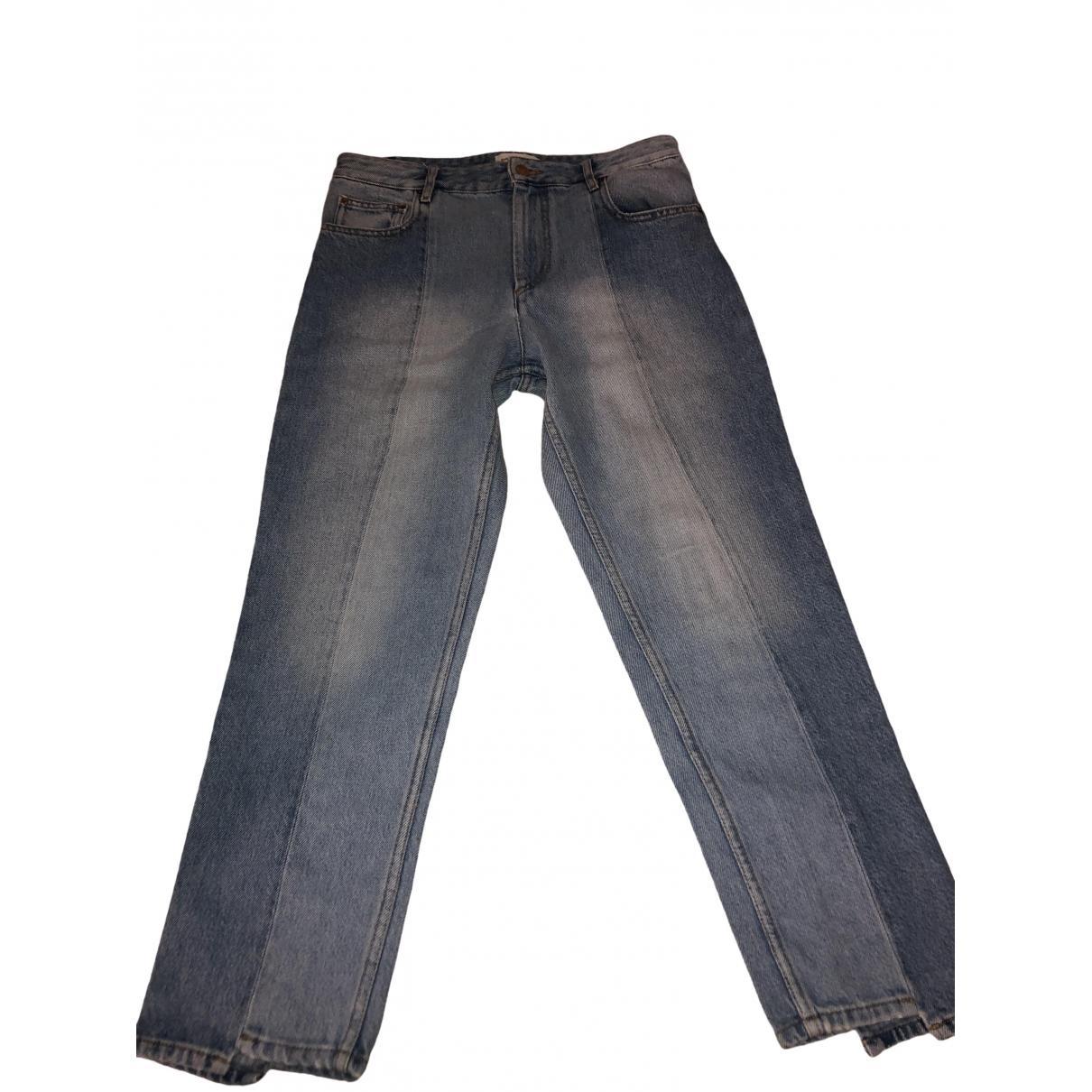 Isabel Marant Etoile \N Blue Denim - Jeans Jeans for Women 40 FR