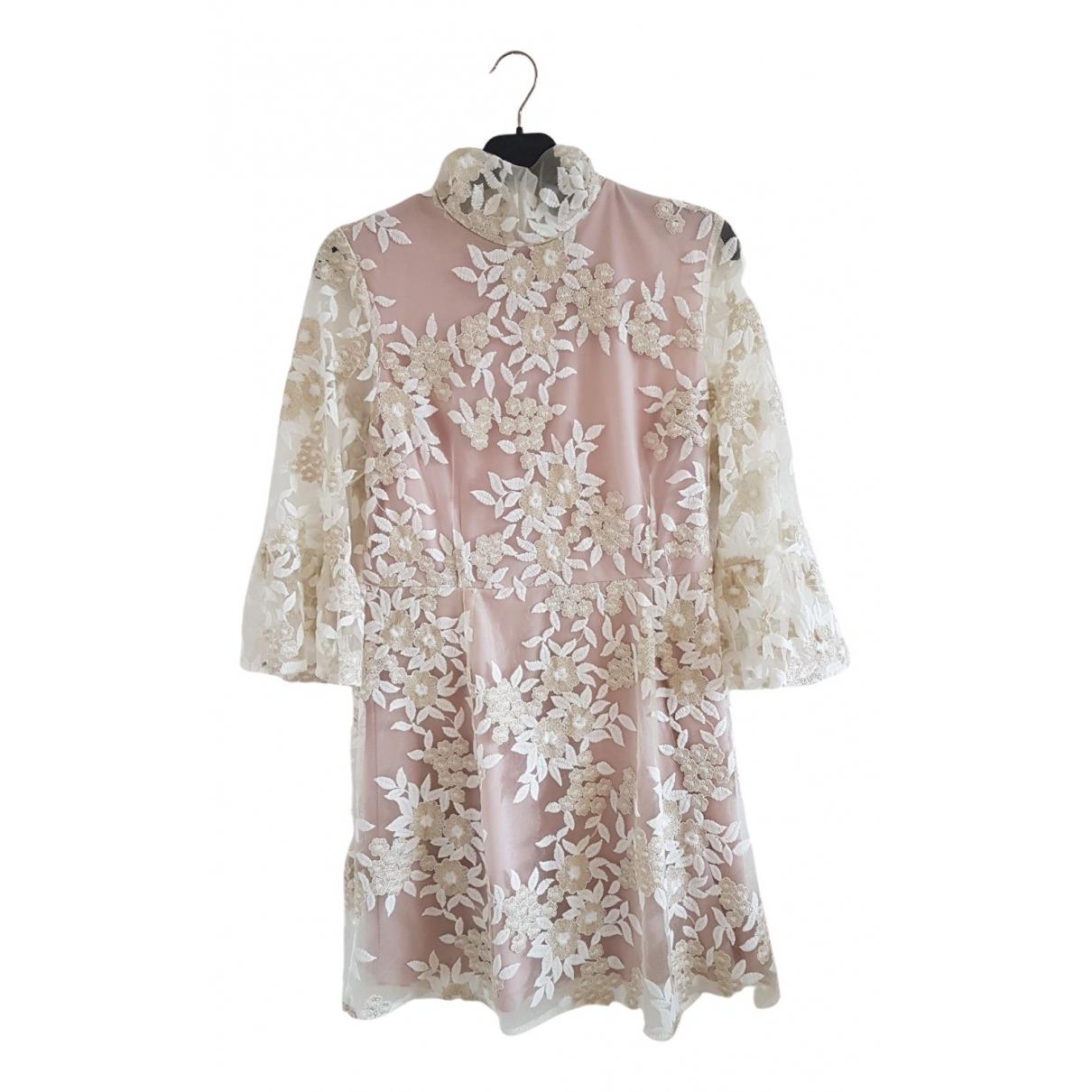 - Robe   pour femme - blanc