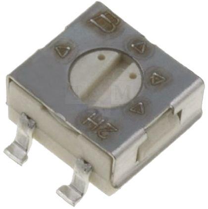 Bourns 250kΩ, SMD Trimmer Potentiometer 0.25W Top Adjust , 3314 (10)