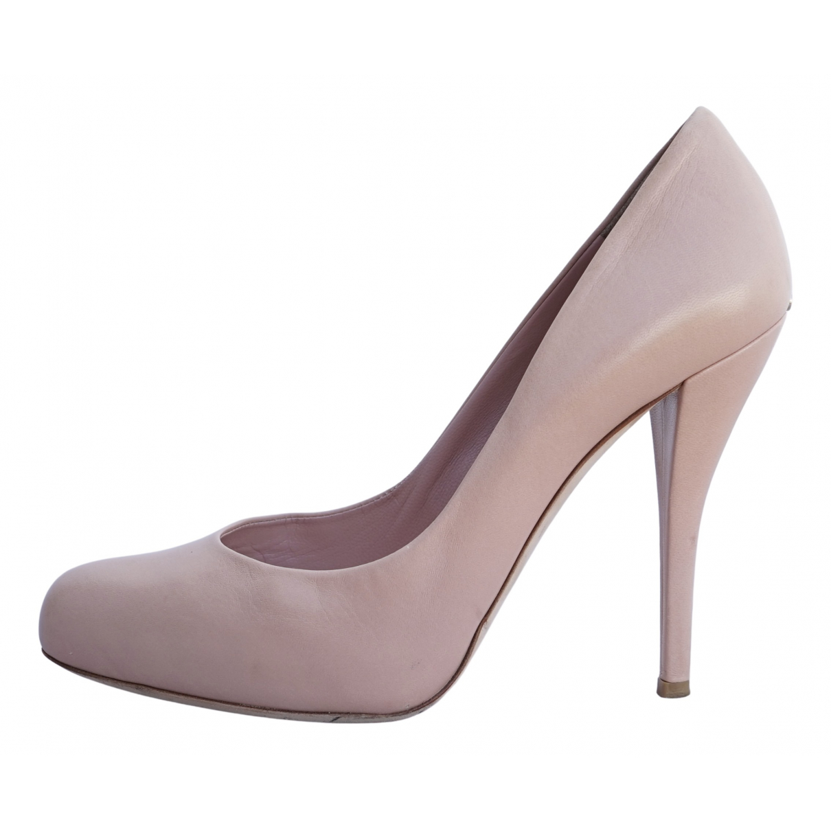 Dior - Escarpins   pour femme en cuir - rose