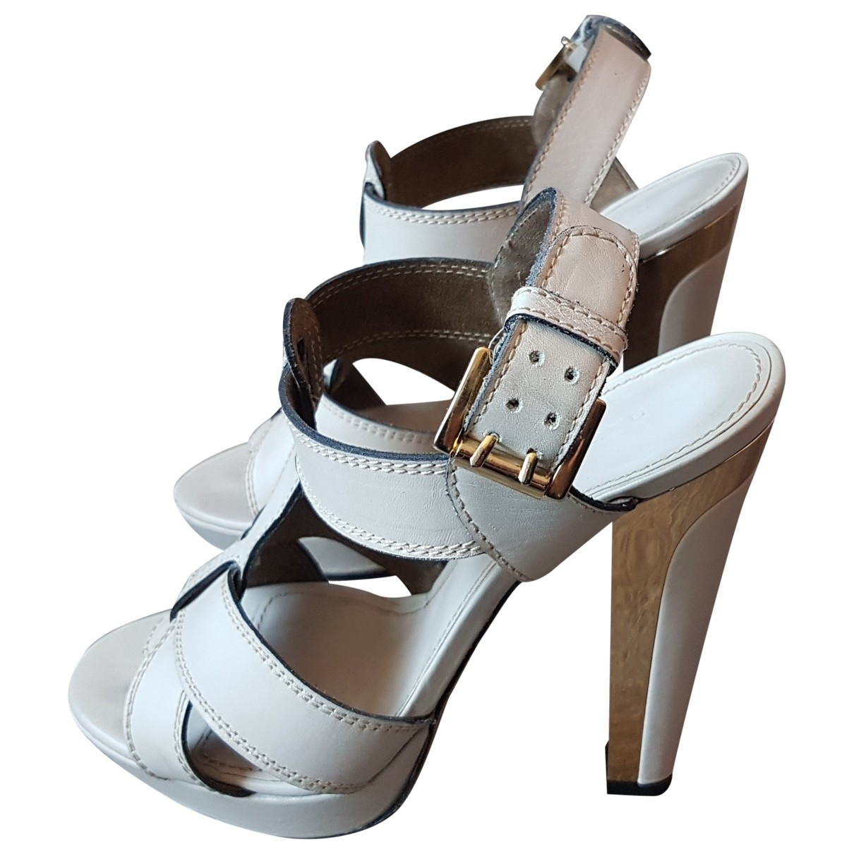 Sandalias de Cuero Barbara Bui