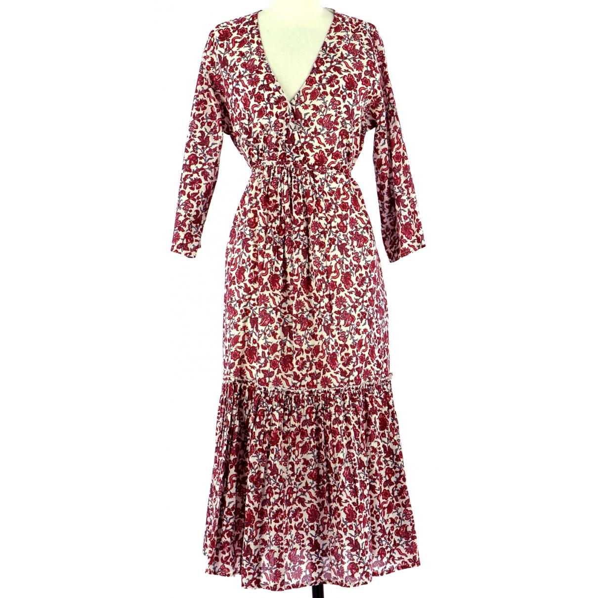Petite Mendigote N Red Cotton dress for Women 40 FR