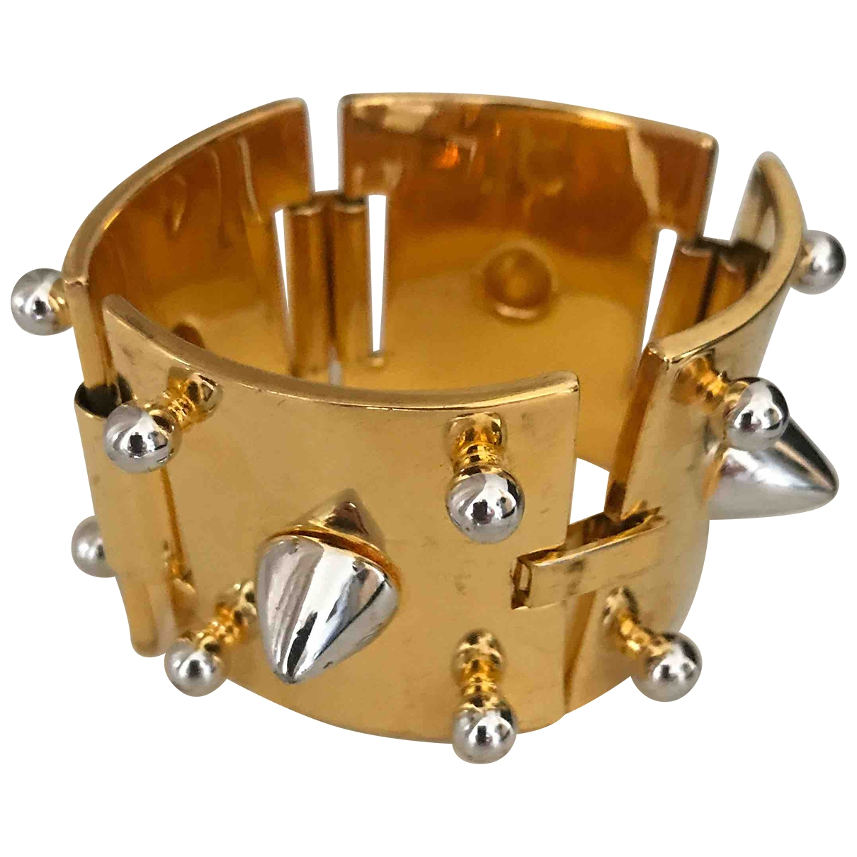 Eddie Borgo - Bracelet   pour femme en or et acier - multicolore