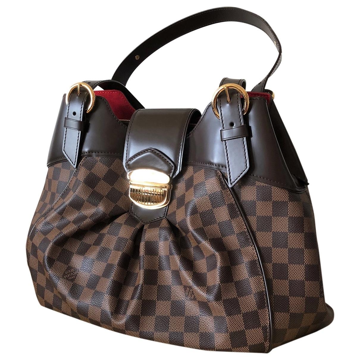 Louis Vuitton Sistina Brown Cloth handbag for Women \N