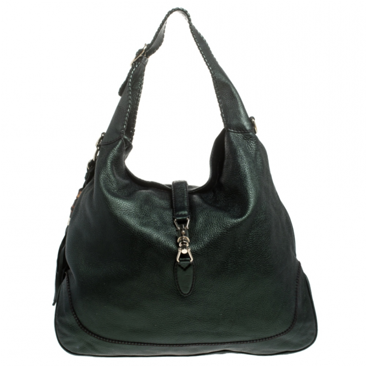 Gucci \N Handtasche in  Metallic Leder