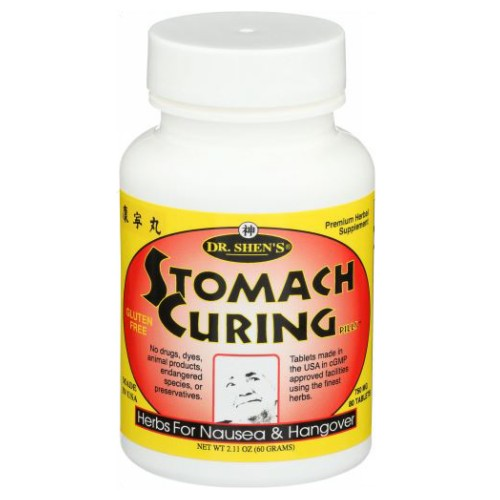 Stomach Curing For Nausea 80 TABS by Dr. Shens