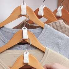 6 piezas gancho connectado de perchas de ropa