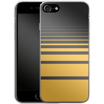 Apple iPhone 7 Silikon Handyhuelle - Yellow Retro von SONY